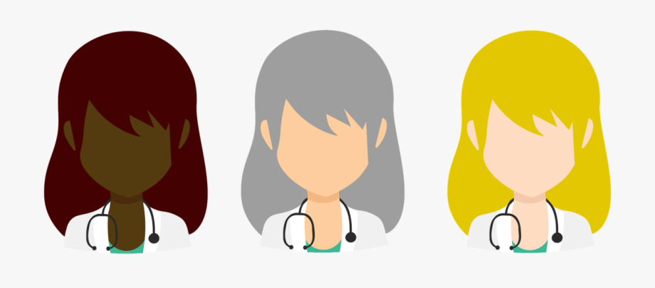 svg freeuse library Caring clipart primary care physician. Doctor avatar .