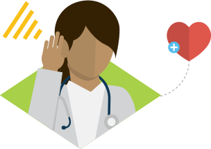 clip royalty free Caring clipart primary care physician. Empathetic listening tools and.