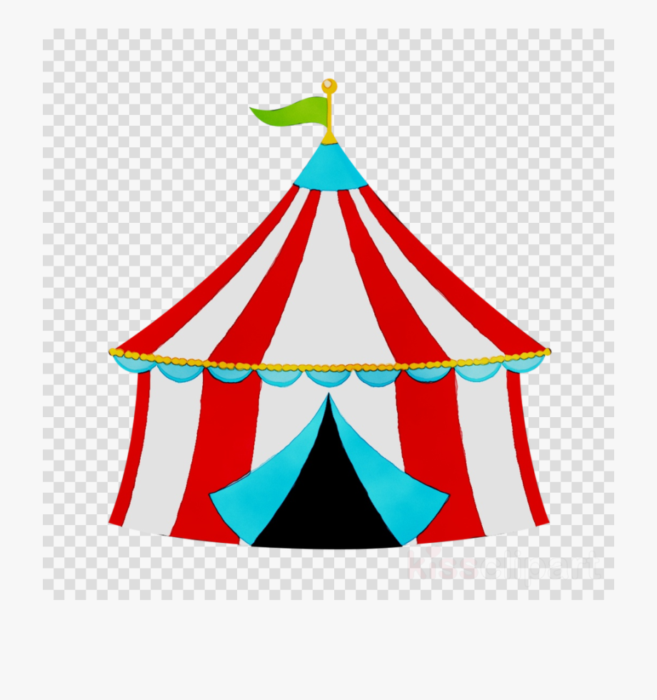 clip black and white library Carnival clipart. Birthday circus tent .