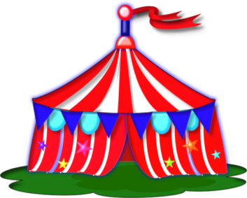 clip art transparent download Free image group tents. Carnival clipart.