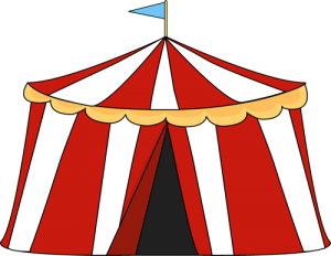 clipart free library Circus tent free on. Carnival clipart.