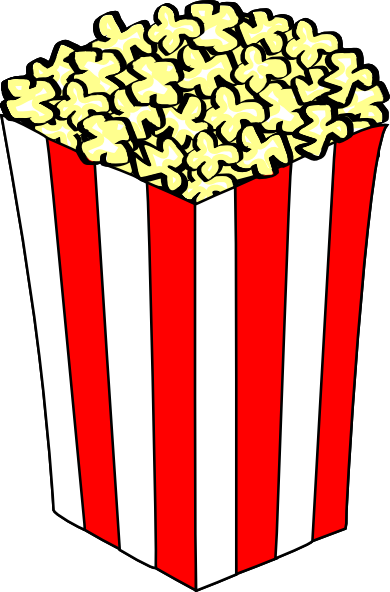 graphic royalty free library Carnival clipart. Popcorn clip art clipartix.