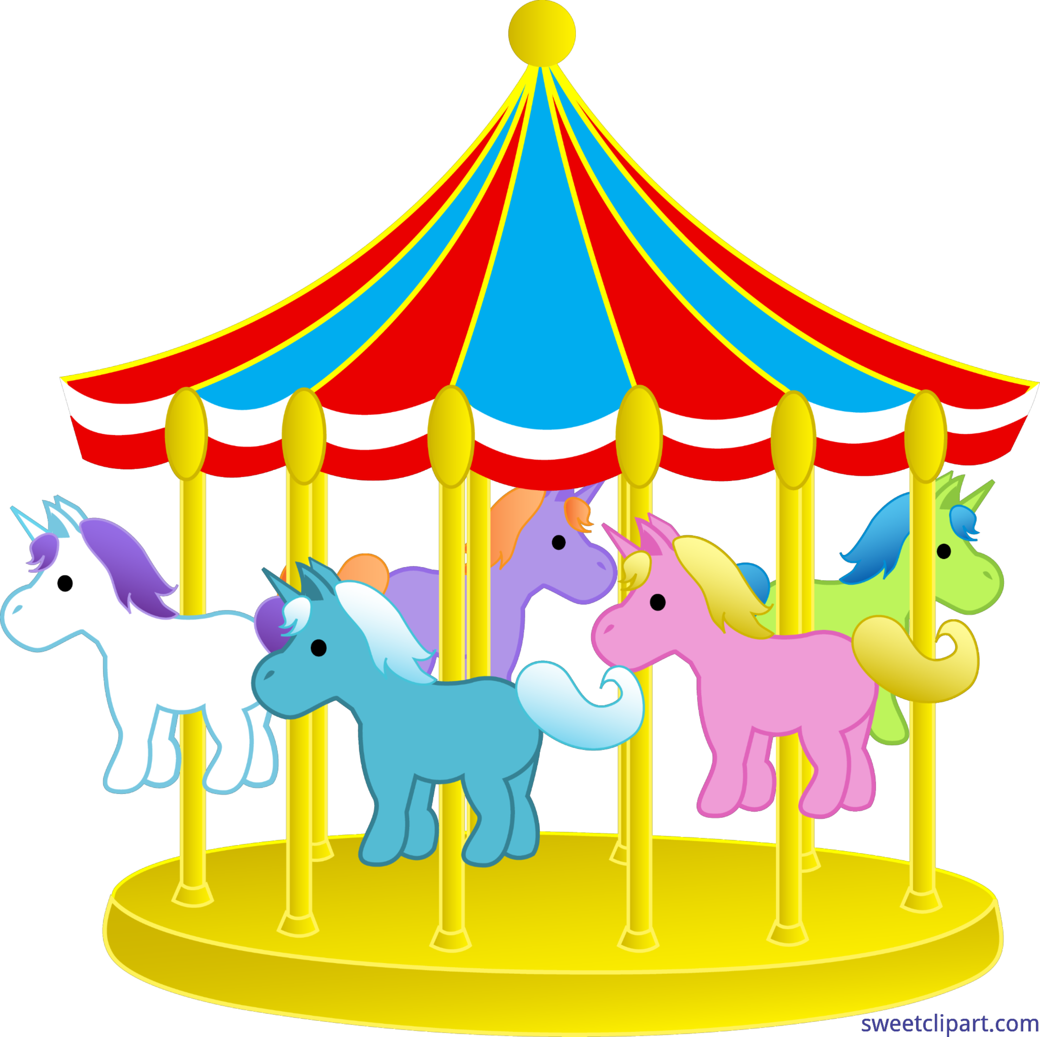 banner transparent library Objects Carnival Carousel