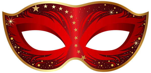 picture library download Mardi gras clipart comedy tragedy. Red carnival mask png.