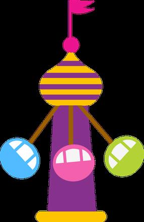 svg free library Arcade clipart vintage carnival games. Parque de divers es