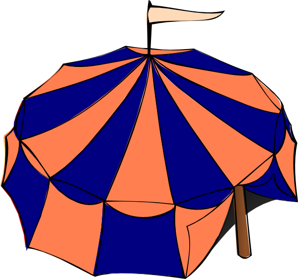 clip art royalty free Clip art at clker. Carnival tent clipart