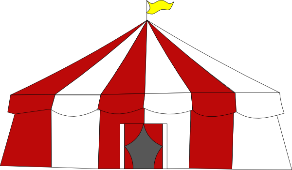 image royalty free download Circus tent clipart. At getdrawings com free