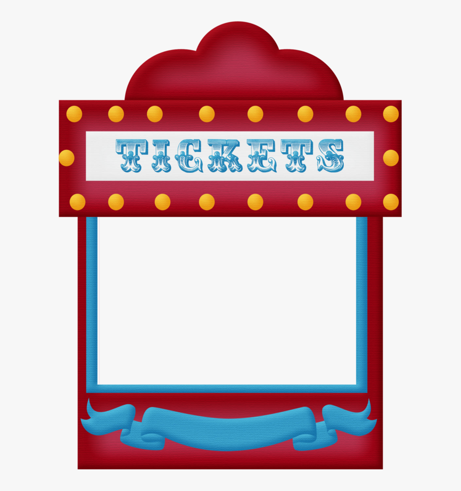 picture free Carnival ticket booth clipart. Frames