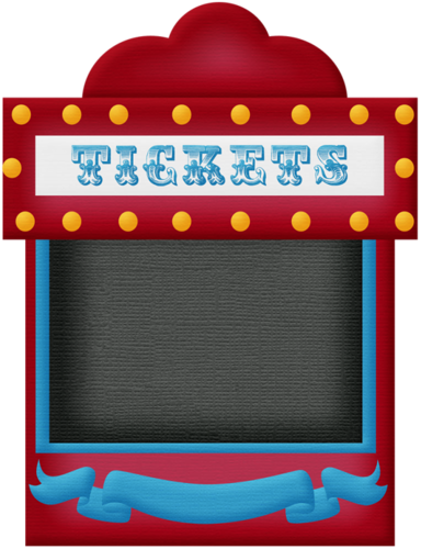vector Carnival ticket booth clipart. Aw circus tiket png