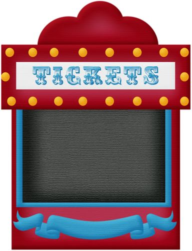 clip art black and white Free cliparts download clip. Carnival ticket booth clipart