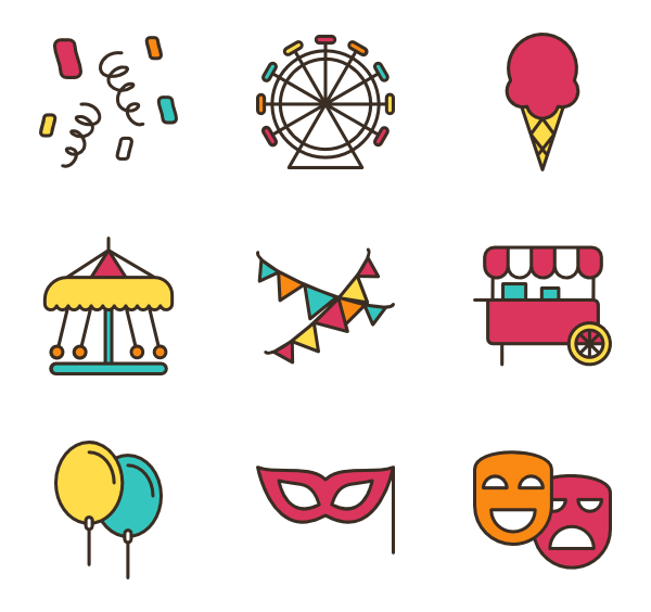 clip art freeuse stock carnival vector fair #110379618