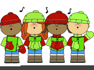 graphic freeuse stock Singing free images at. Carolers clipart