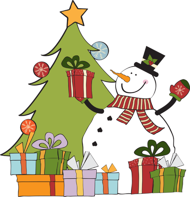 clip transparent library Great Clip Art of Snowmen and Carolers