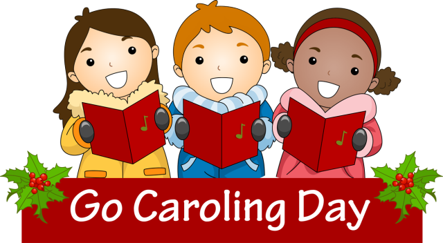 vector black and white Caroling clipart singingclip. Backgrounds hd top wallpaper.