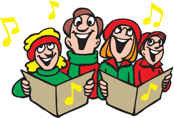 jpg royalty free download Caroling clipart theme. A christmas eve to.