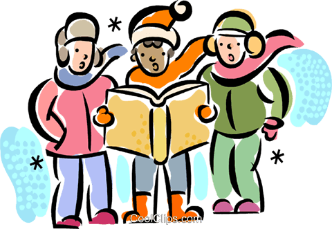 clipart library download At getdrawings com free. Carolers clipart santa.