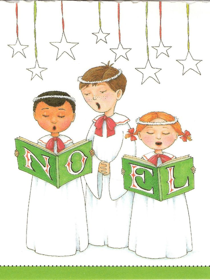 clipart library stock Carolers clipart spirit. Caroling transparent free