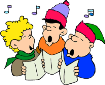 clipart library stock Caroling transparent free . Carolers clipart spirit