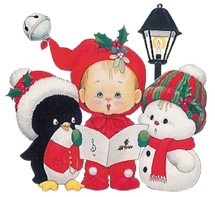 graphic transparent download Gifs cliparts tubes enfants. Carolers clipart village.