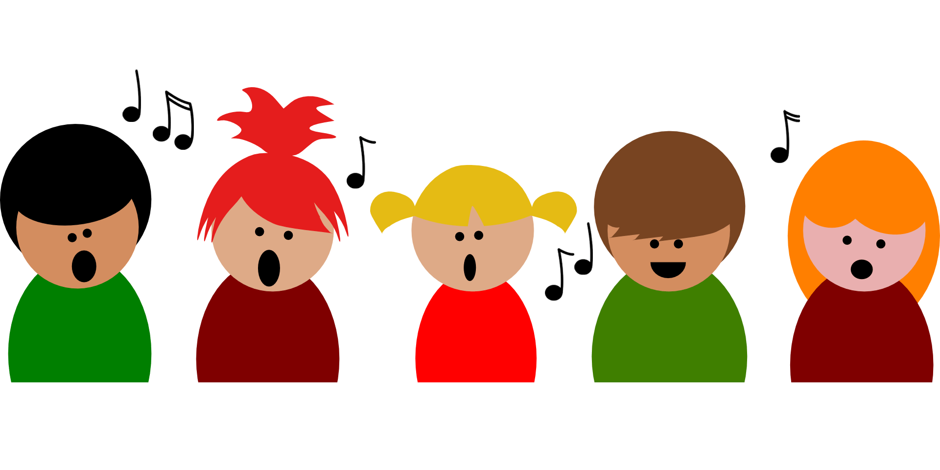 svg download Caroling in the caverns. Carolers clipart village.