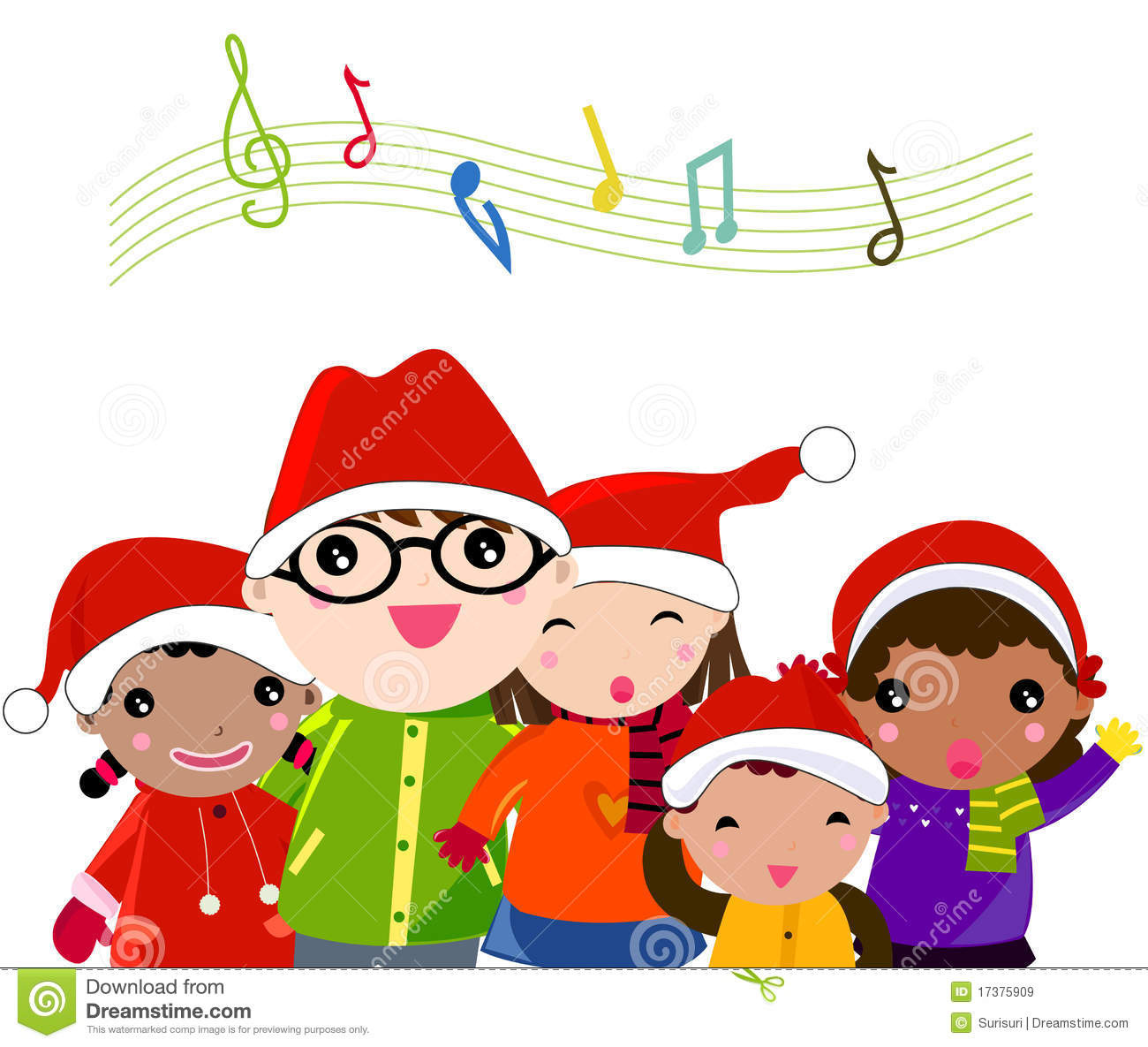 image royalty free stock Caroling clipart.  christmas carolers clipartlook
