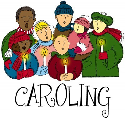 graphic black and white download Free download on webstockreview. Caroling clipart
