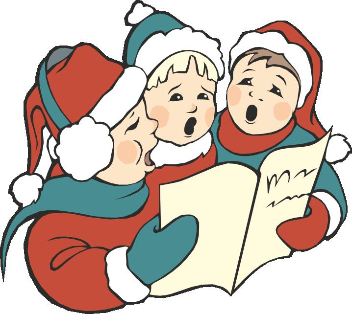 clip transparent stock Christmas eve at washington. Caroling clipart activity.