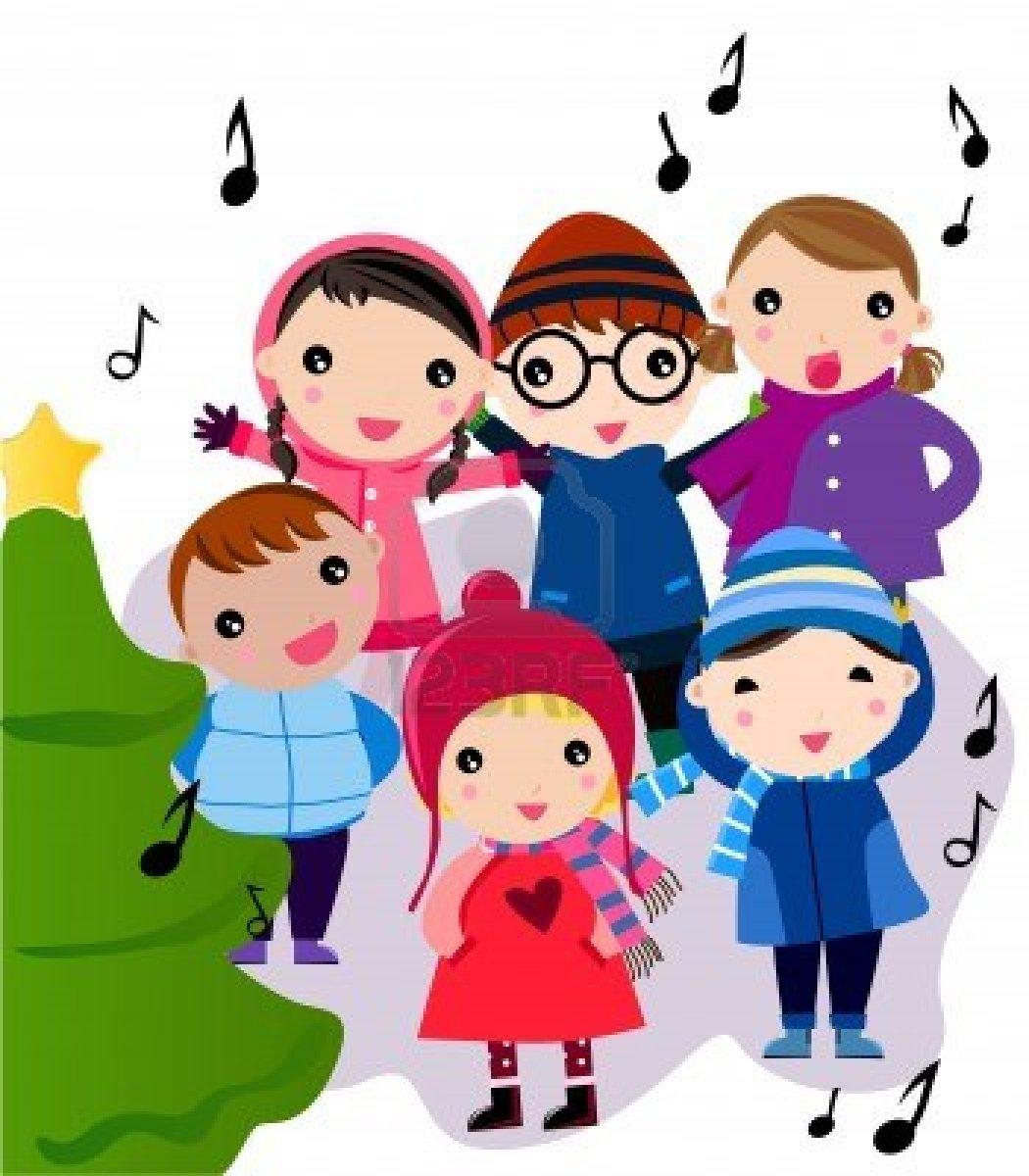 png free stock Transparent . Caroling clipart preschool.