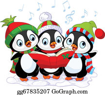 svg library stock Caroling clipart theme. Clip art royalty free.