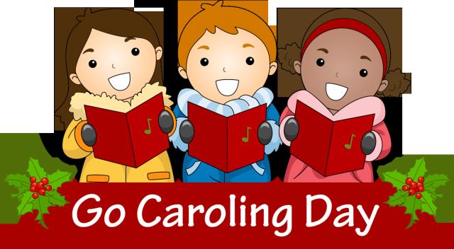 picture Caroling clipart. Clip art for cele