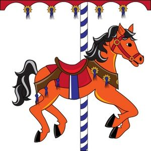 picture library Free clip art horse. Carousel animal clipart