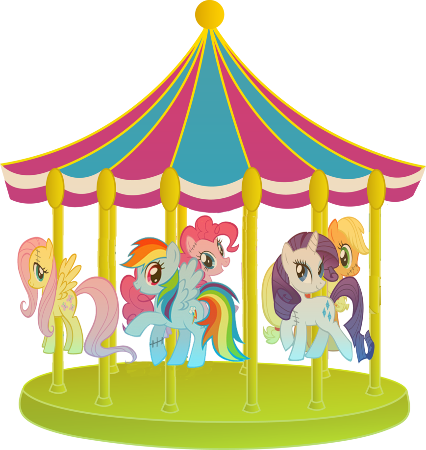 clipart free library Carousel animal clipart. Png image purepng free