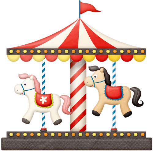 vector royalty free Ticket ride clip art. Carousel clipart