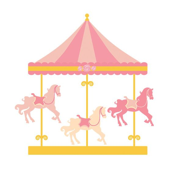 clipart royalty free stock Merry go round clip. Carousel clipart.