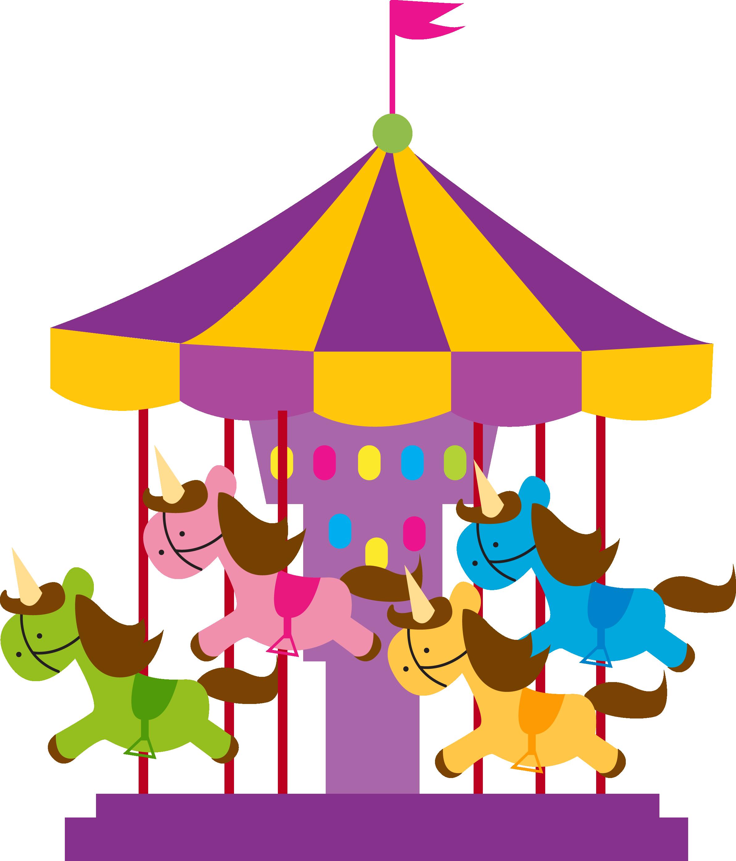 clip art library library Carousel clipart kids carnival games. Parque de divers es.