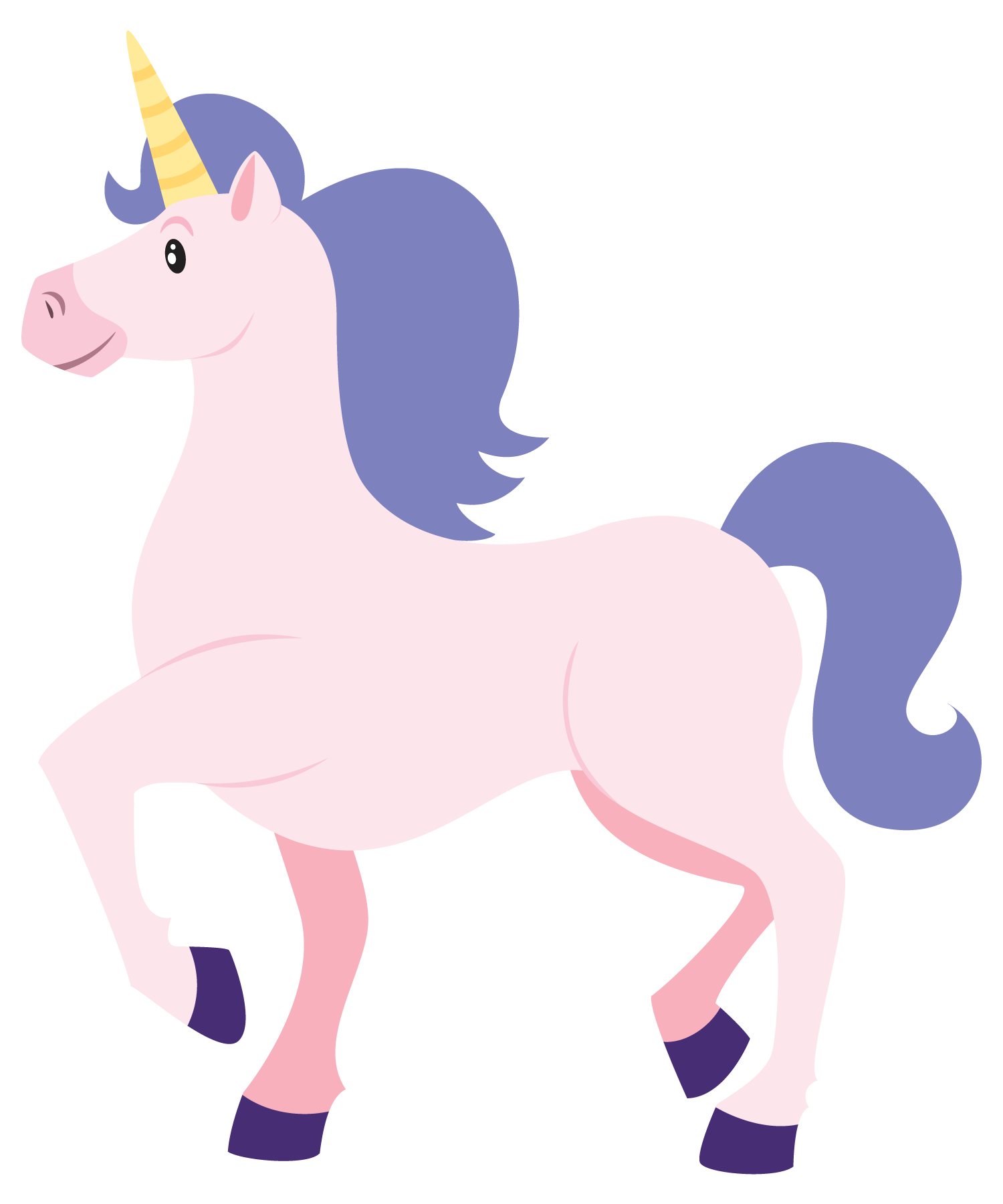 clip library stock Clip art unicorn this. Unicornio vector cute