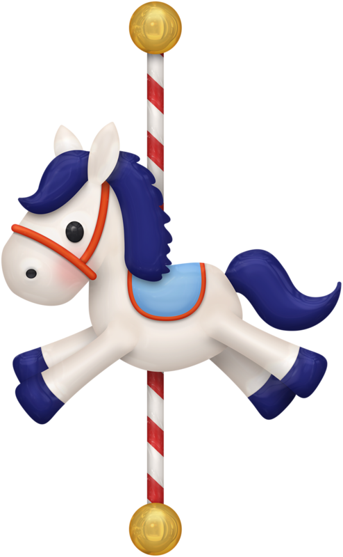 clip freeuse download CAROUSEL HORSE