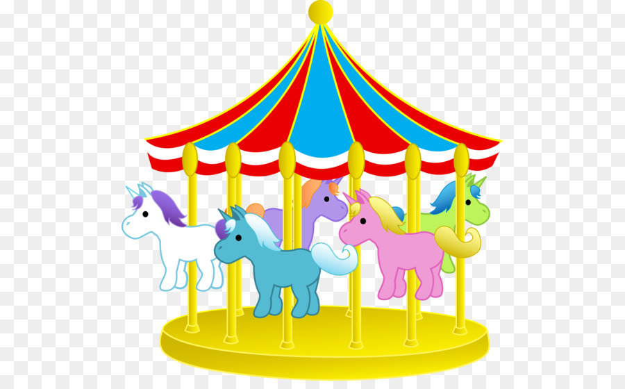 jpg library download Park cartoon carousel transparent. Arcade clipart school carnival