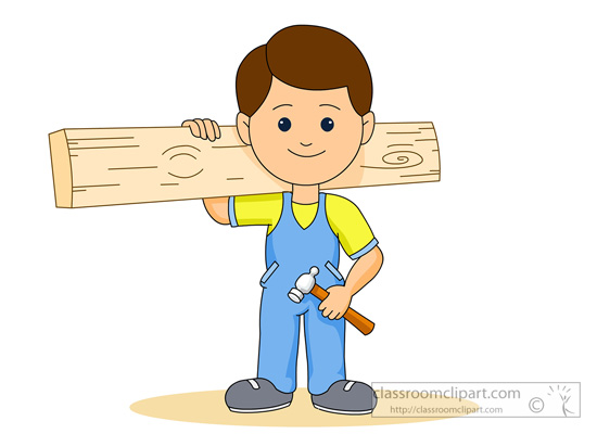 image library library  clipartlook. Carpenter clipart.