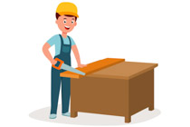 picture stock Search results for clip. Carpenter clipart.