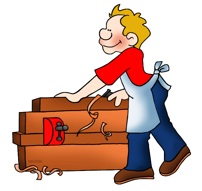 banner royalty free library Carpenter clipart. Unthinkable occupations clip art.