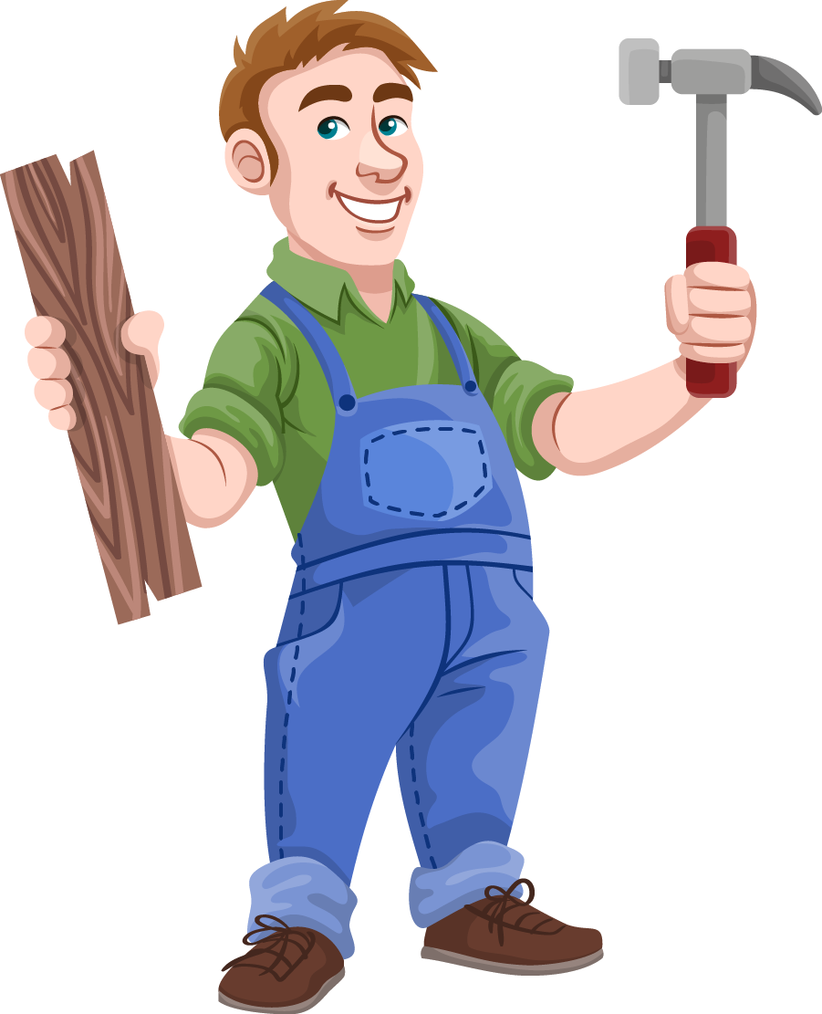clipart freeuse stock Best of letters format. Carpenter clipart female carpenter.