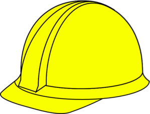 clip art black and white download Labor clipart construction crew. Yellow hard hat clip.