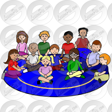 png freeuse library Center clipart rug time. Circle picture for classroom.