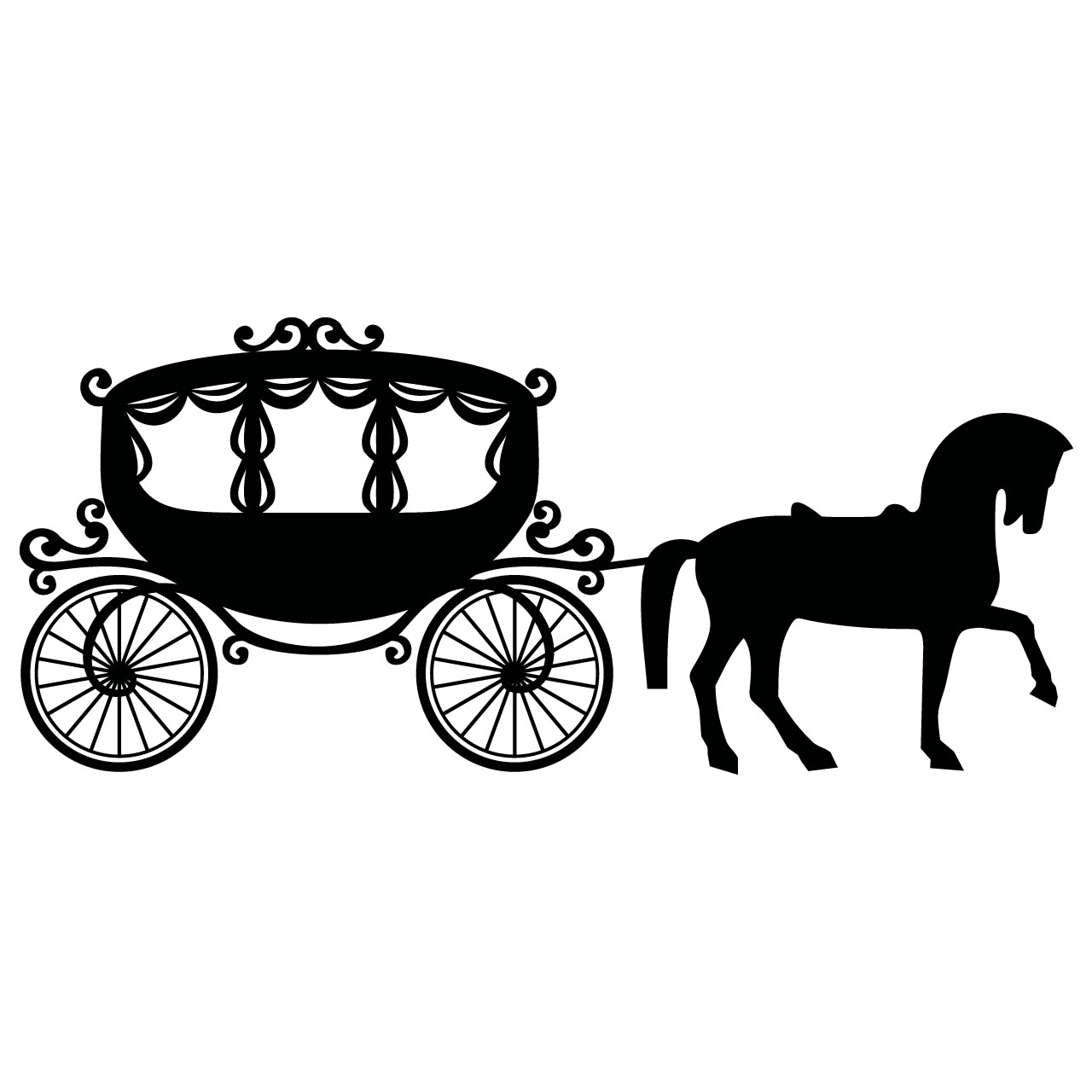 clip library download Free horse drawn cliparts. Carriage clipart.