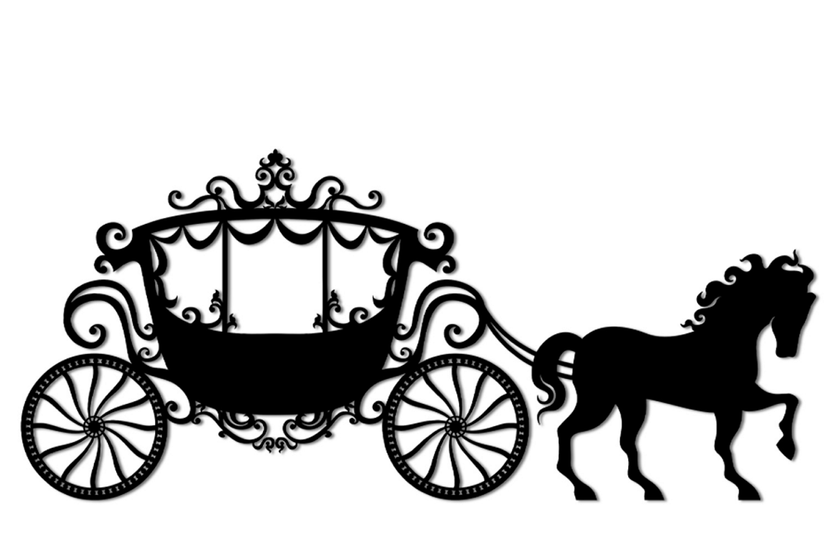 clip transparent stock Svg and png cutting. Carriage clipart.