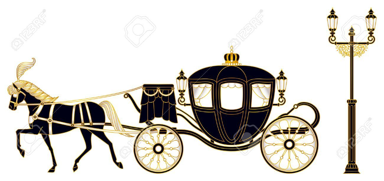 png transparent Crown royal x horses. Carriage clipart.