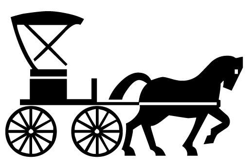 clip library download Carriage clipart. Free horse drawn cliparts