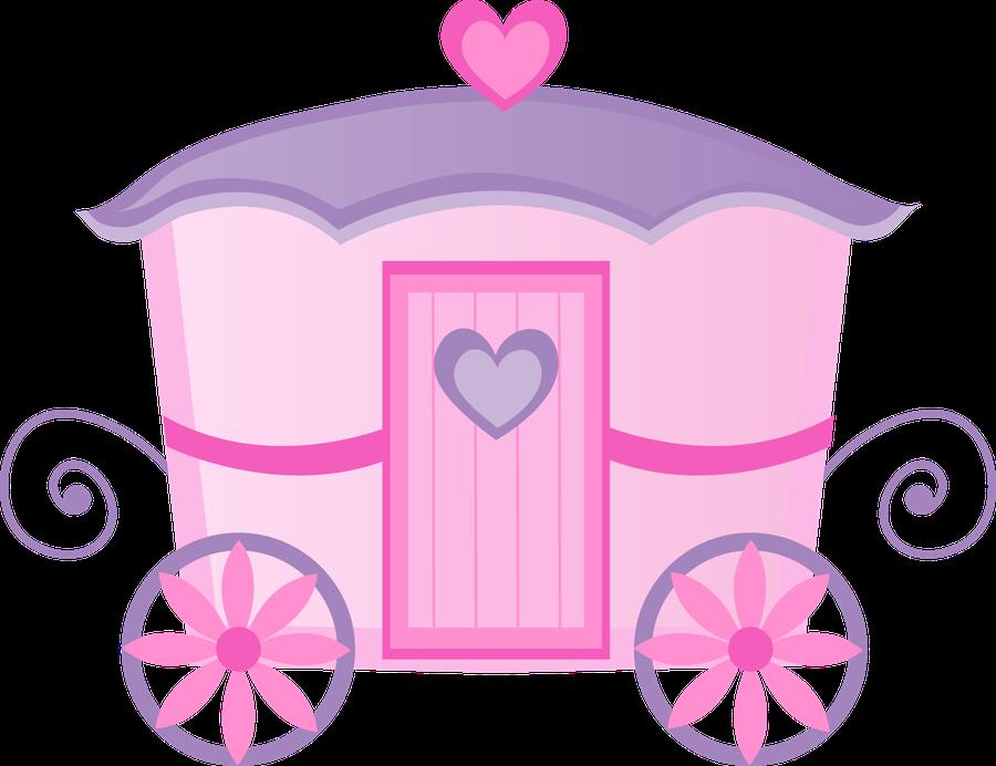 vector free library Princesas e pr ncipes. Carriage clipart cinderella baby.