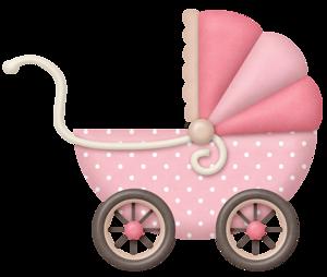 clip freeuse stock Lliella babygirl pram png. Carriage clipart frame.